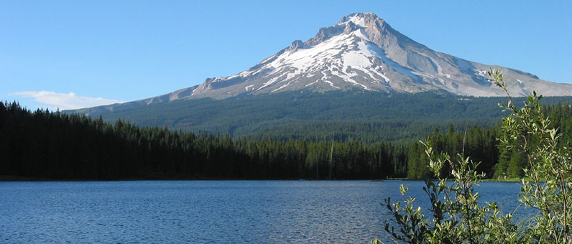 Mt. Hood from Lost Lake