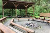 Small shelter and fire pit 5