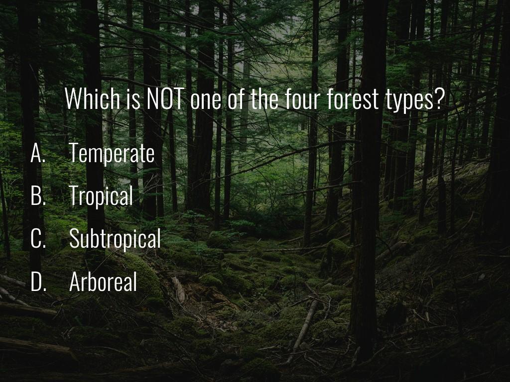 World Forestry Center_Forest Quiz_Slide17